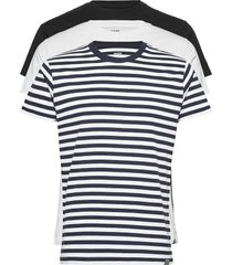 favorite thor 3 pack t-shirts short-sleeved multi/mönstrad mads nørgaard