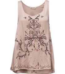 dolomite tanktop blouse mouwloos roze odd molly