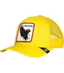 gorra amarillo navy goorin bros freedom