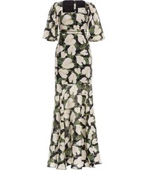 clavel maxi dress