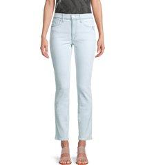 joe's jeans women's cropped skinny jeans - clarion - size 25 (2)