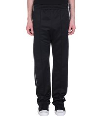 marcelo burlon pants in black polyester