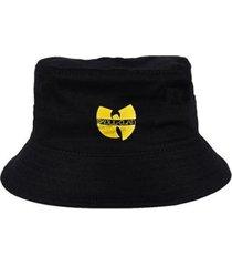 chapéu bucket skull clothing wu tang skull clan - unissex