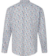 overhemd van 100% katoen met bloemenprint van pure multicolour