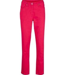 pantaloni elasticizzati  con cinta comoda straight (rosso) - bpc bonprix collection