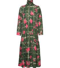 polku ruutukukka dress jurk knielengte multi/patroon marimekko