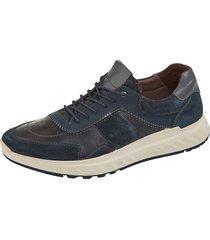 skor naturläufer marinblå::grå