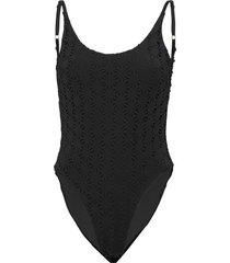 aya swimsuit baddräkt badkläder svart underprotection