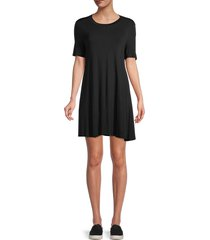 bcbgeneration women's a-line dress - black - size s