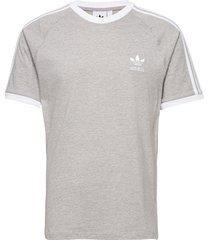 3-stripes tee t-shirts short-sleeved grå adidas originals
