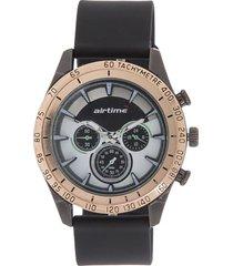 reloj negro virox airtime