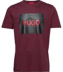 dolive201 t-shirts short-sleeved röd hugo
