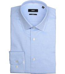 hugo boss jesse overhemd 50399598/450 overhemd licht blauw