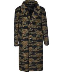 buscemi camouflage teddy bear coat