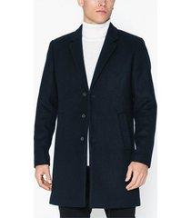 premium by jack & jones jprmoulder wool coat sts jackor mörk blå