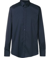 dolce & gabbana formal shirt - blue