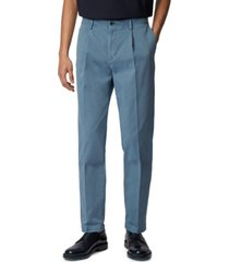 boss men's sleat tapered-leg pants