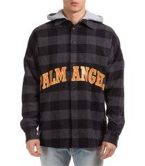 palm angels graffiti & thunderbolt jacket