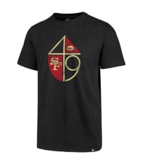 '47 brand san francisco 49ers men's throwback club t-shirt