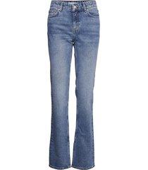 bonny-i jeans utsvängda blå mango