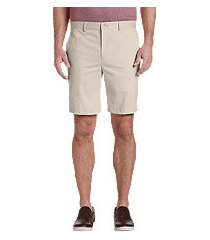 traveler collection tailored fit twill shorts - big & tall by jos. a. bank