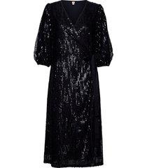 glitrio holiday dress dresses sequin dresses svart becksöndergaard