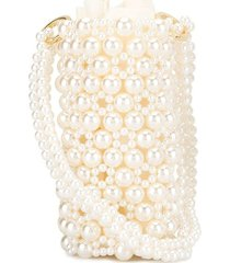 0711 leli bucket bag - white