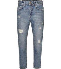 jeans p.grax denim p-grax blacksmith cropped fit jeans (hrpz32)