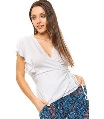 blusa natural caekilia acapulco