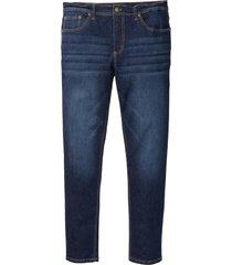 jeans elasticizzati con t-400 slim fit straight premium (blu) - john baner jeanswear