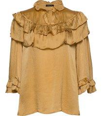 ada blouse lange mouwen geel stella nova