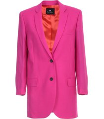 ps by paul smith jacket over wool