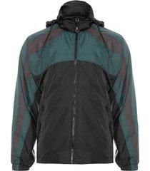 jaqueta masculina sport color mix - preto