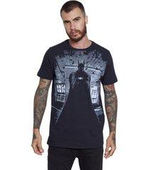 camiseta sideway batman - preto