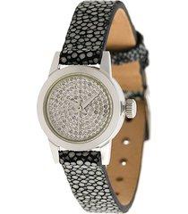 christian koban cute diamond watch - grey