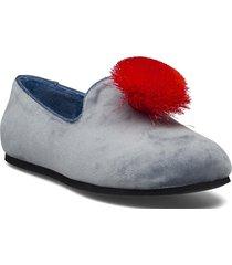 hums tassle loafer loafers låga skor grå hums