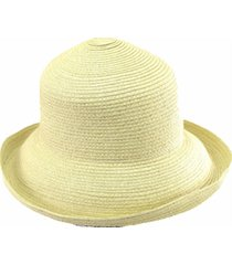 sombrero natural almacén de paris plegable