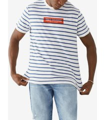 men's striped logo t-shirt