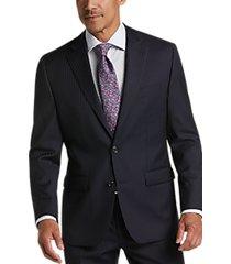 lauren by ralph lauren blue stripe classic fit suit