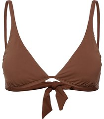 active split wire bra bikinitop brun seafolly