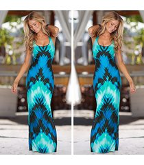 vestido grupo tabu x24 - azul