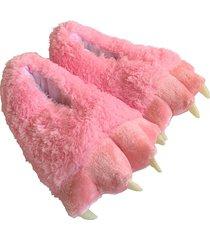 pantuflas garras rosadas producto colombiano