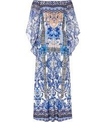 abito con spalle scoperte (blu) - bodyflirt boutique