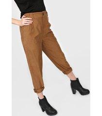 pantalon marrón asterisco tel aviv
