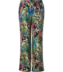 broek jungle-impressies van emilia lay multicolour