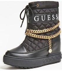 buty z ozdobnymi łańcuszkami model fariba