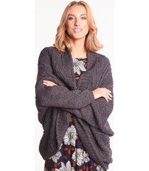 szary sweter oversize lima