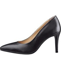 pumps i elegant, spetsig modell liva loop svart
