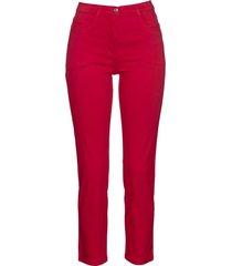 pantaloni cropped elasticizzati (rosso) - bpc selection
