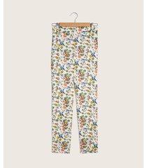 pantalón de flores